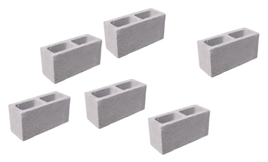 cinder block weight
