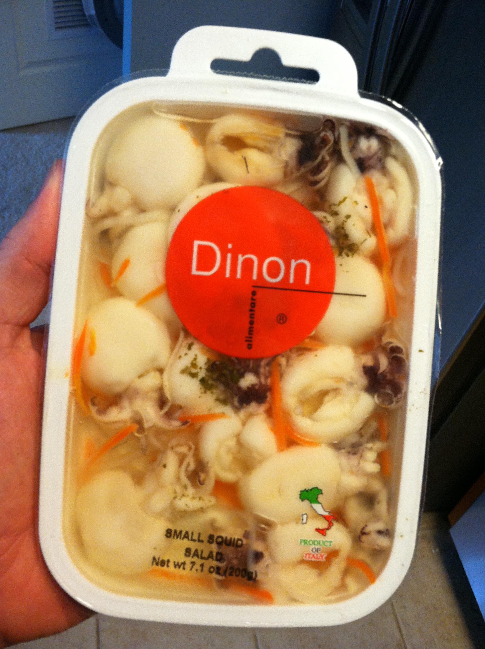 japanese squid salad calories