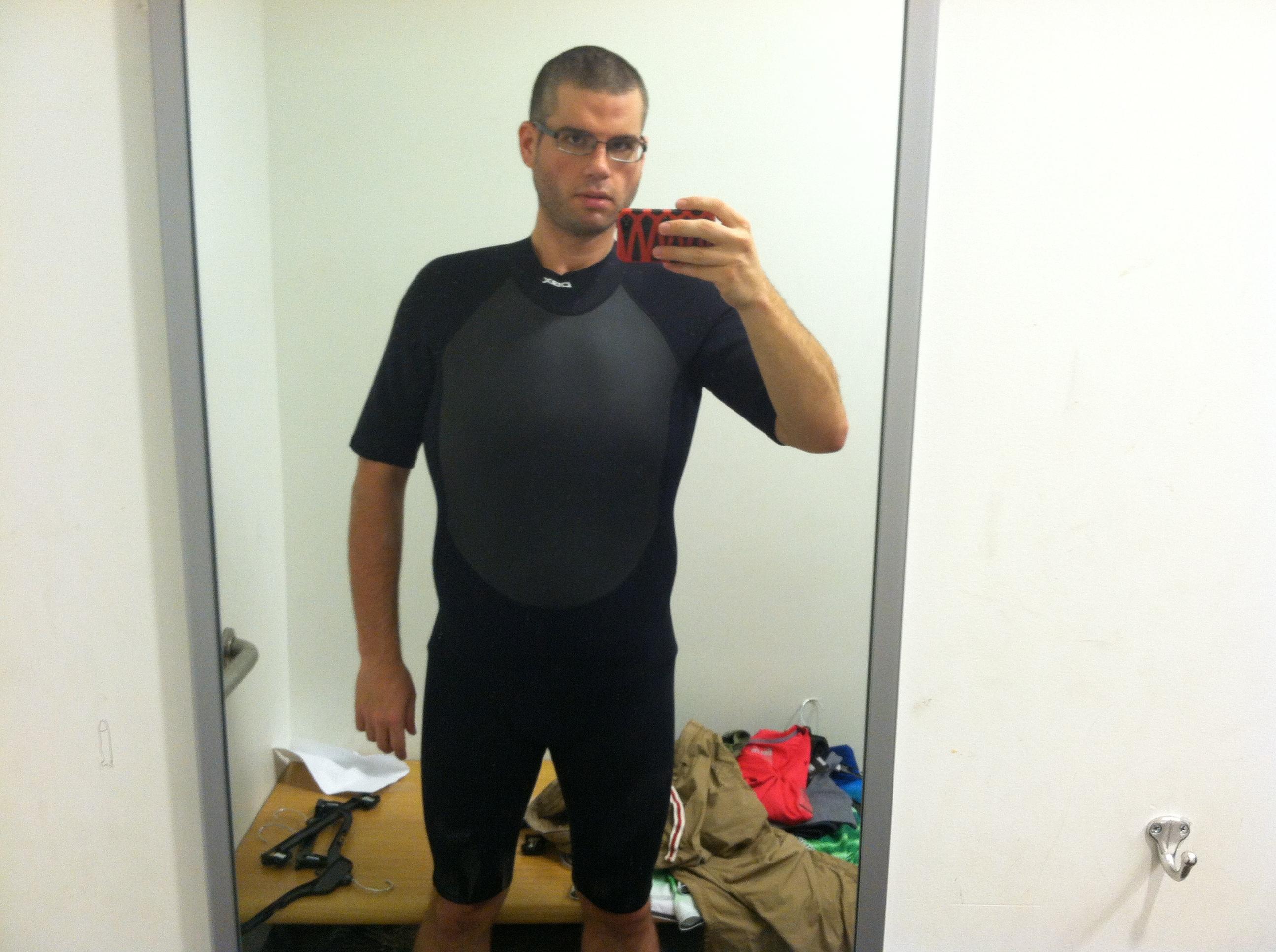 DBX Men/'s Shorty Wetsuit  Large