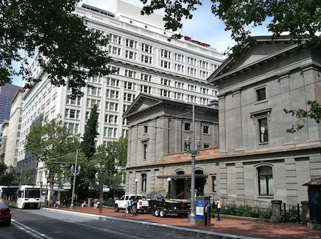 Pioneer Courthouse The Nines