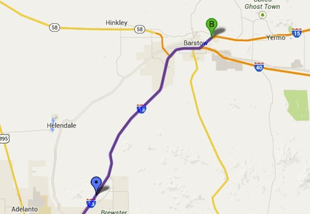 Victorville-to-Barstow