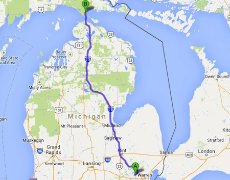 Bloomfield-Hills-to-Upper-Peninsula
