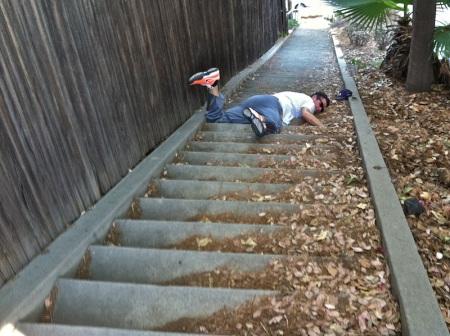 Falling-Down-Swan-Stairway