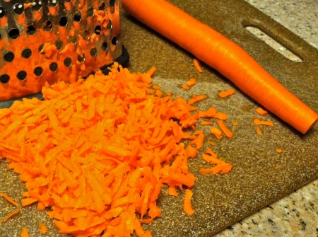 grated-carrot