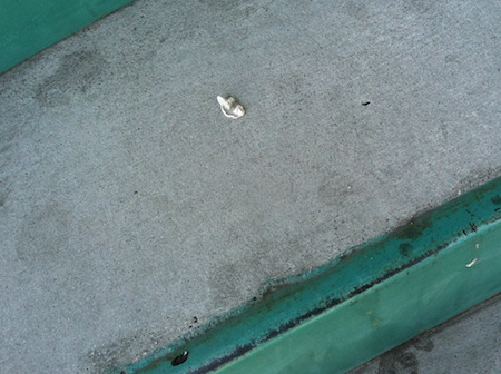 gum-on-staircase