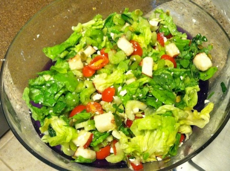 Marinated-Celery-and-Pear-Salad-Bowl
