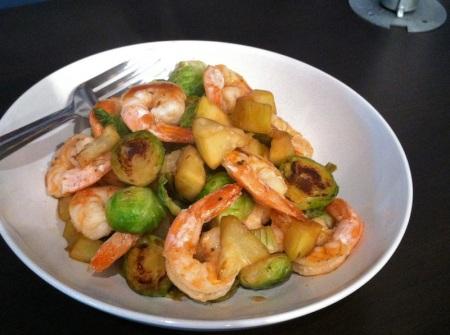chinese-gourd-shrimp-stir-fry