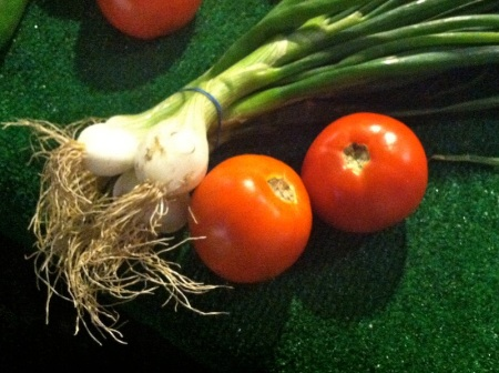 spring-onions-tomatoes