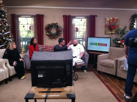 before-home-and-family-taping