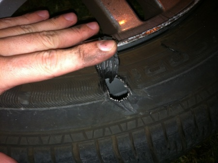 hole-in-tire