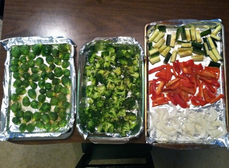 raw-vegetables-on-trays-roasting