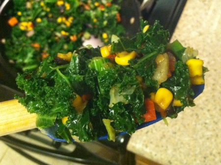 sauted-kale-veggies