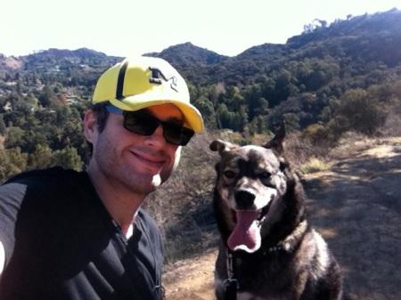 David-jimi-dog-hike-fryman-canyon
