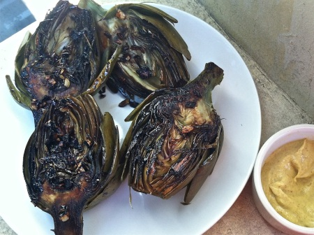 four-pan-seared-artichoke-halves