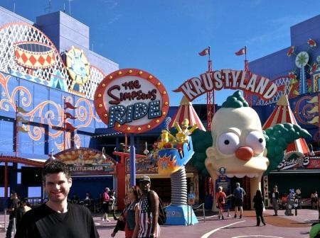 Simpsons-David-Universal-Studios-Hollywood