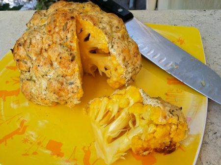 Sliced-Whole-Roasted-Orange-Cauliflower