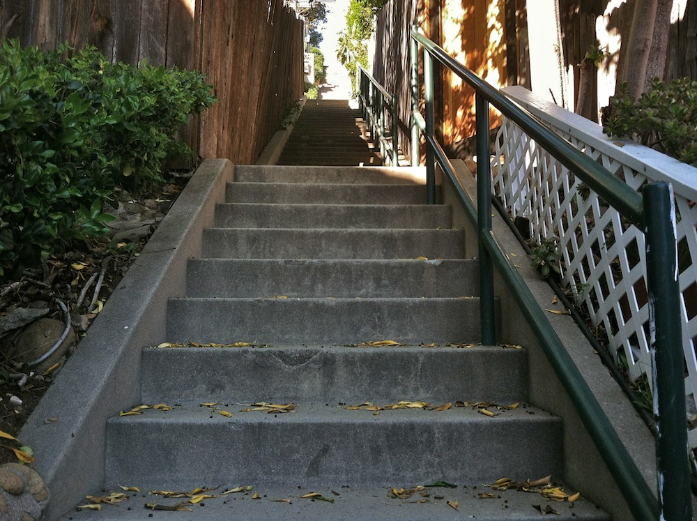 Broadview Terrace Stairway Lower Section U2026