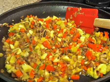 diced-veggies-in-skillet