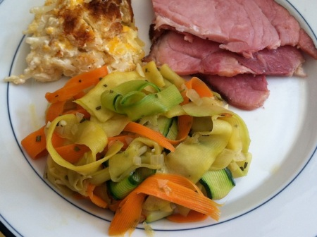 Easter-Veggie-Ribbons-Plate