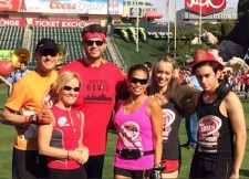 West Coast Labels at Hike the Halo (Angel Stadium).