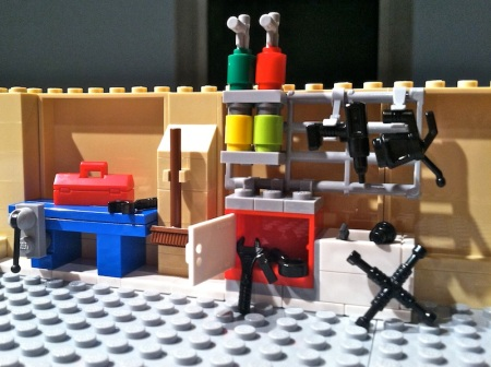 Simpsons-Lego-House-Garage-Tools