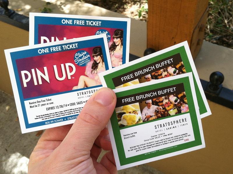 Vegas buffet coupons