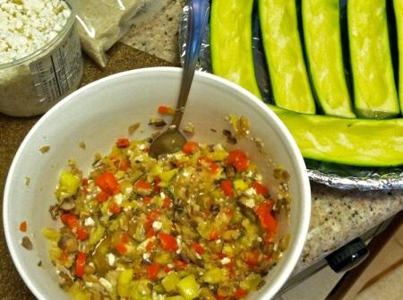 zucchini-boat-filling