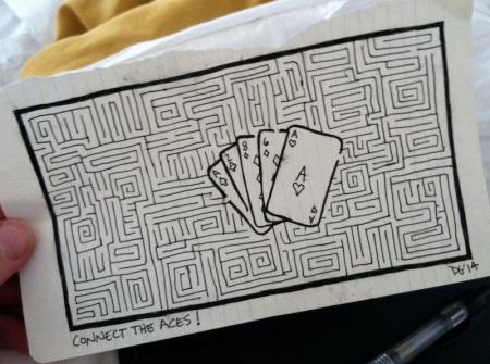 Card-maze