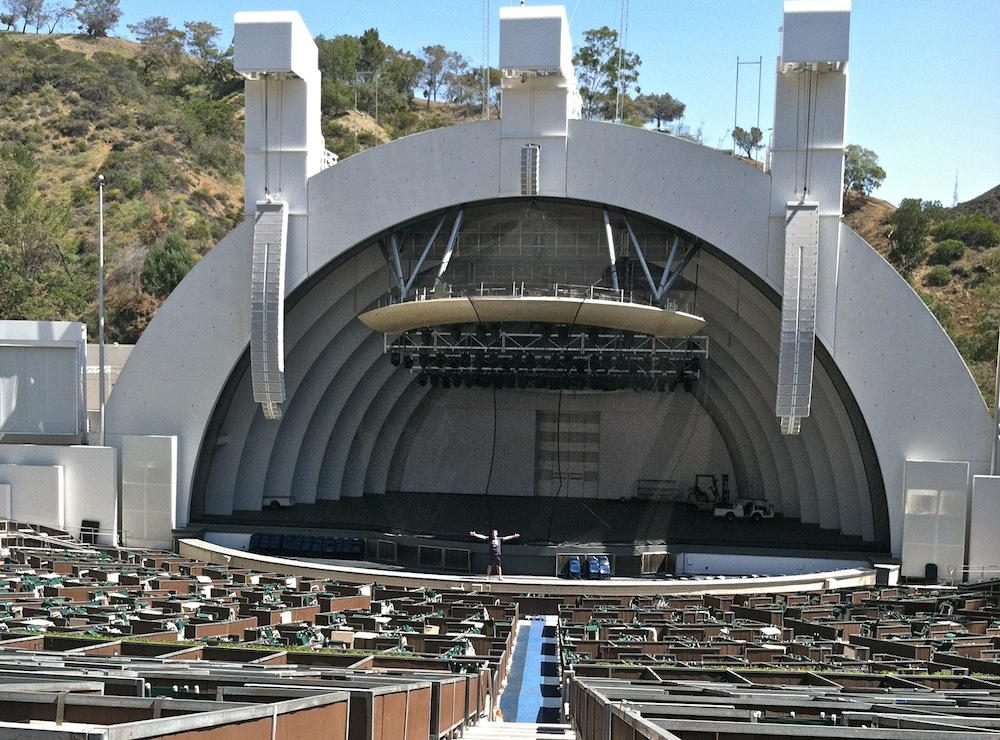 The Hollywood Bowl >> Climbing Stairs At The Hollywood Bowl Keep It Up David