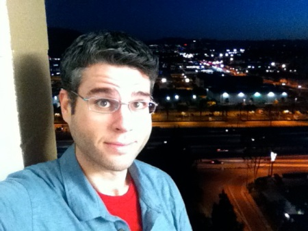 David-Selfie-Burbank-Holiday-Inn
