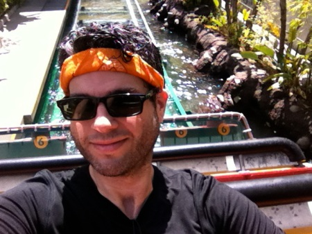 David-selfie-Jurassic-Park-Universal-Studios