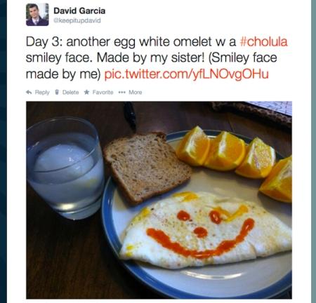 Twitter Omelet