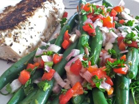 Easy-Green-Bean-Salad-Close-Up