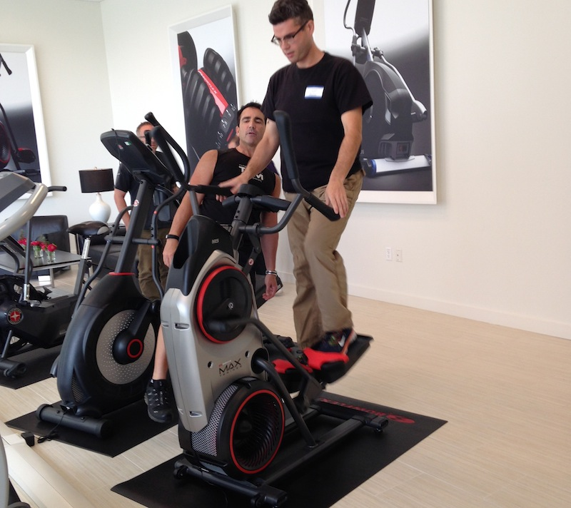 Behind The Scenes at the Bowflex Webcast