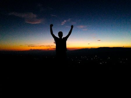 David-Silhouette-Sunset