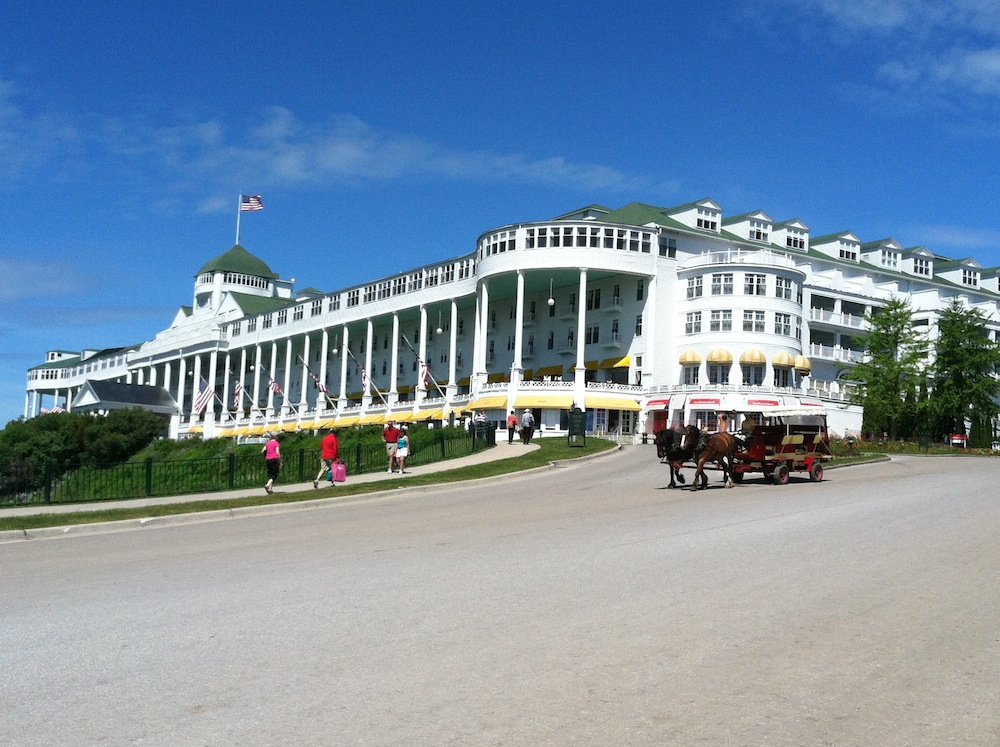 And there's the Grand Hotel, the most famous building on the island ...