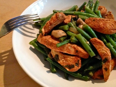 Paprika-Chicken-Green-Beans