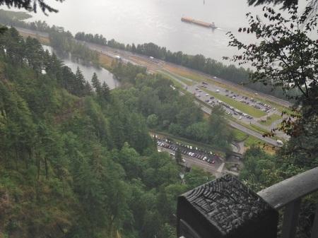 View-From-Top-of-Multnomah-Falls