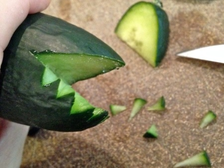 cucumber-carving