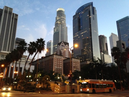 Downtown-Los-Angeles-skyline
