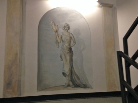 Statue-Mural-Wells-Fargo-Center