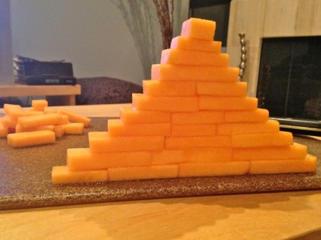 Cantaloupe Pyramid