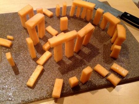 Cantaloupe-Stonehenge-Melon