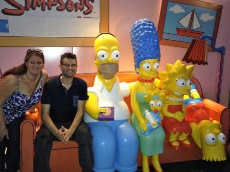 David-Jen-Simpsons-Family