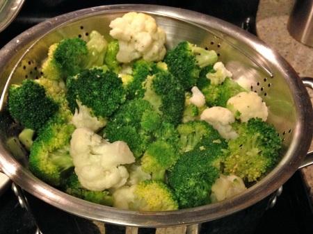 steamed-broccoli-cauliflower