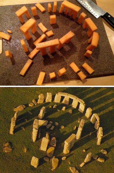 Stonehenge-Cantaloupe-Photo-Comparison