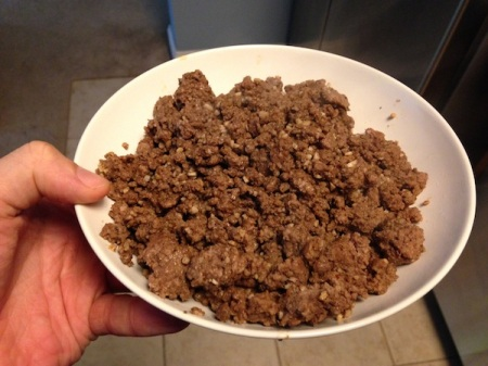 browned-bison-meat