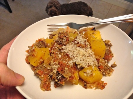 Butternut-And-Bison-Casserole-Bowl