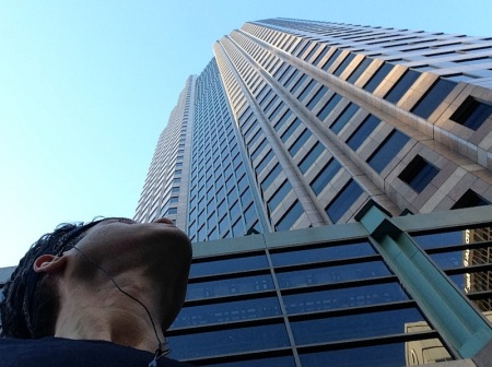 david-looking-up-figueroa-at-wilshire