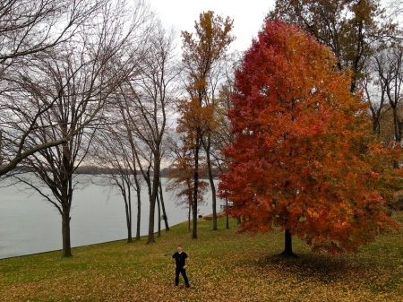 David-Fall-Foliage-Lake-Springfield